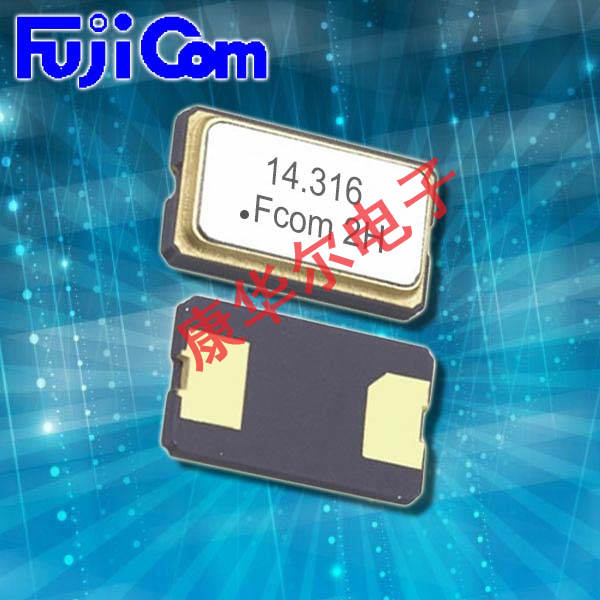 富士晶振,石英晶体谐振器,FSX-6M晶振