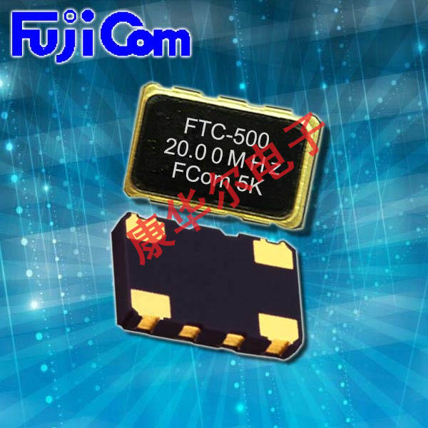 富士晶振,TCXO晶振,FTC-506晶振