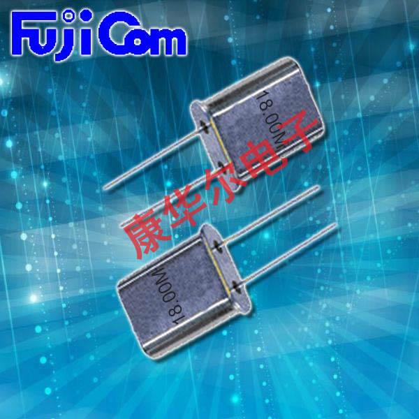 富士晶振,DIP晶振,HC-49U晶振