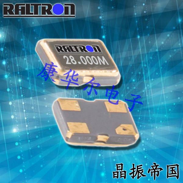 Raltron晶振,贴片晶振,F10晶振