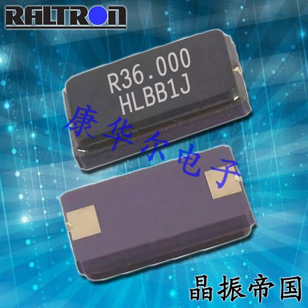 Raltron晶振,6035贴片晶振,H10A晶振