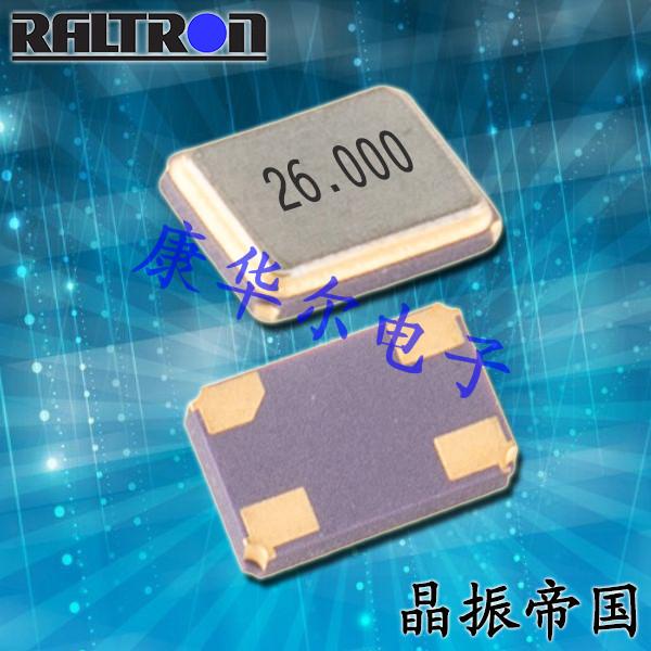 Raltron晶振,耐高温晶振,RH100晶体