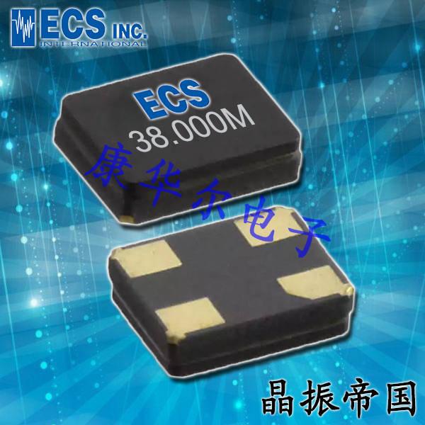 ECS晶振,32.768K晶振,ECX-16晶振,ECS-.327-12.5-16-TR晶振