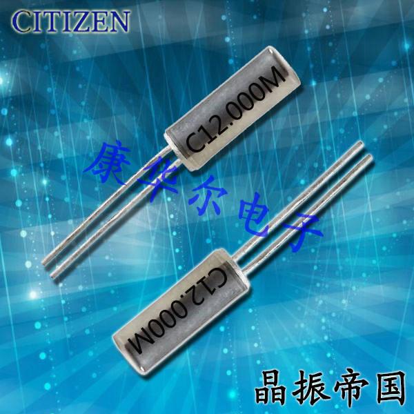 CITIZEN晶振,圆柱晶振,CSA-309晶振,CSA-310晶振
