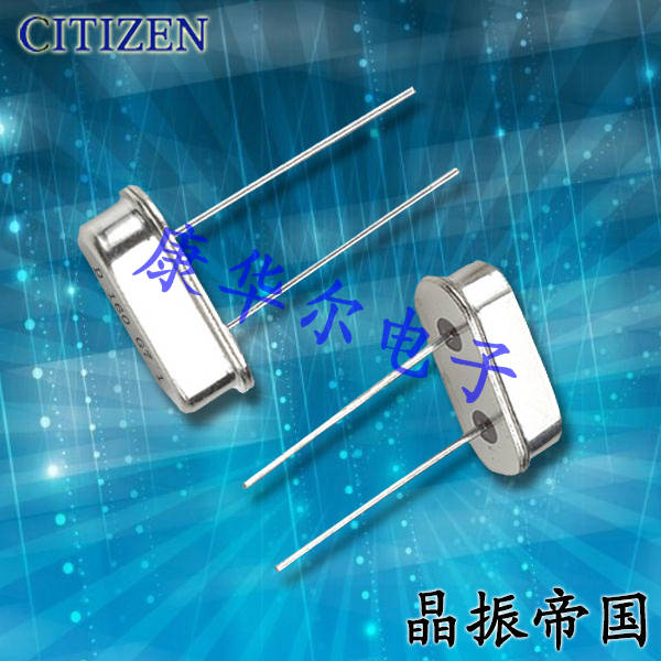 CITIZEN晶振,插件晶振,HC-49晶振,HC-49/U-S7372800ABJ晶振