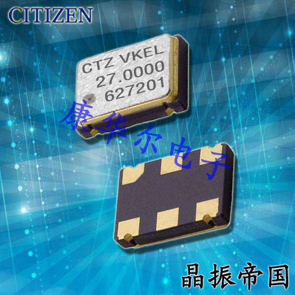 CITIZEN晶振,OSC晶振,CSX-750V晶振