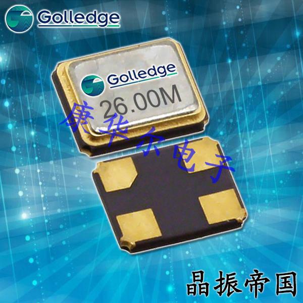 Golledge晶振,贴片晶振,GTXO-253晶振