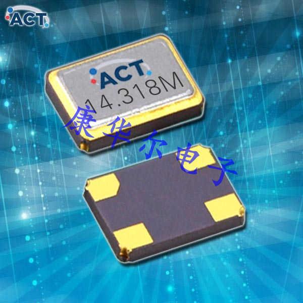 ACT晶振,石英晶体振荡器,TX32CC压控温补晶体