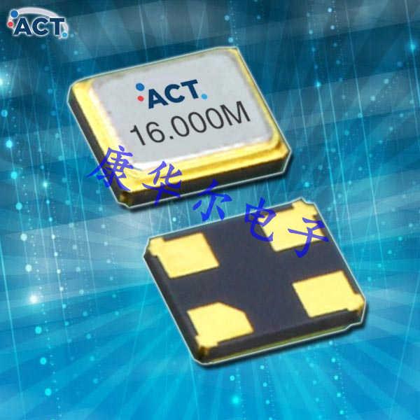 ACT晶振,贴片石英晶振,1612H-SMX-4晶振