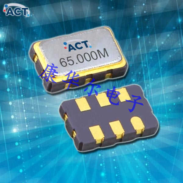 ACT晶振,进口石英贴片晶振,FTV53无铅振荡子