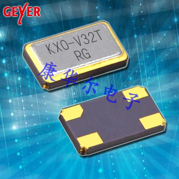 GEYER晶振,石英贴片晶振,KXO-V32T时钟晶体振荡器