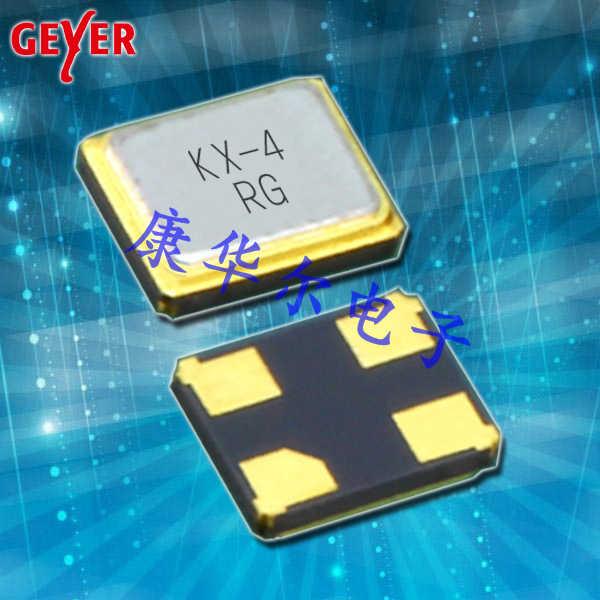 GEYER晶振,耐高温晶振,KX-4晶体