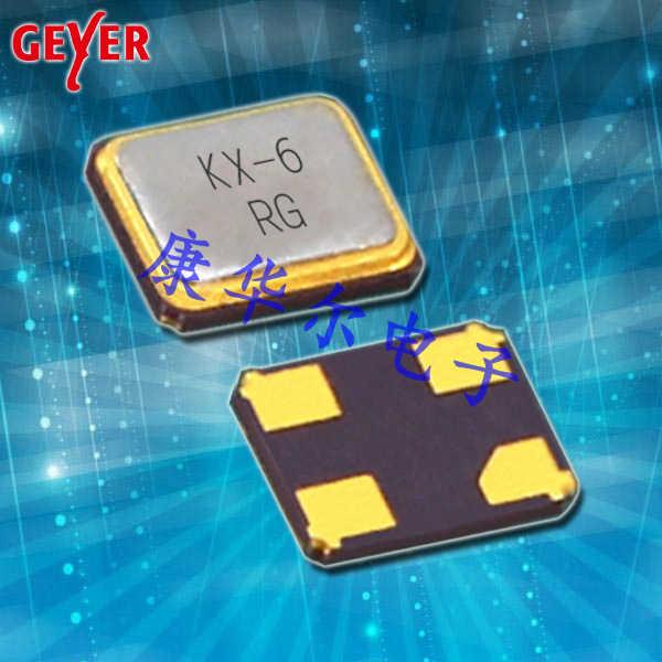 GEYER晶振,SMD晶振,KX-6晶体