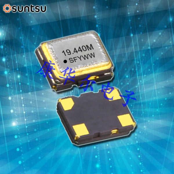 Suntsu晶振,石英贴片晶振,STC53C压控温补振荡器